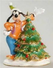 Buy Disney Goofy porcelain jeweled keepsake treasure box HB Figurine