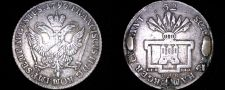 Buy 1796-OHK German States Hamburg 32 Schilling World Silver Coin - Mount Removed
