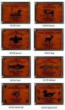 Buy Cabin Series Traditional Sign - Available in 9 Designs