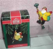 Buy Santa fire Fighter North Pole Hallmark Keepsake ornament