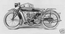 Buy INDIAN 1916 - 1920 POWERPLUS MOTORCYCLE Parts MANUAL for 1917 1918 1919 service