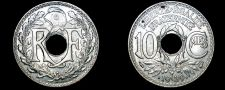 Buy 1939 French 10 Centimes World Coin - France