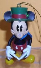 Buy Disney Mickey Mouse caroling with song book ornament