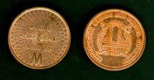 Buy TRIBOROUGH BRIDGE AND TUNNEL AUTHORITY VINTAGE TOKEN.***