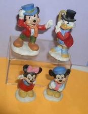Buy Uncle Scrooge Tiny Tim Bob Cratcht Schmid 4 porcelain figurines