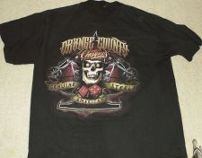 Buy Orange County Choppers Shirt - Says Genuine Steel American XL
