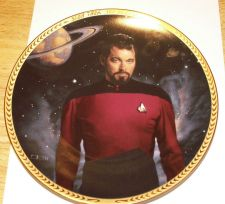 Buy Star Trek Next Generation Plate - Hamilton Collection