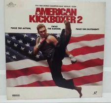 Buy LASER DISC ACTION MOVIE AMERICAN KICK BOXER 2 COLLECTIBLE X 1 DISC