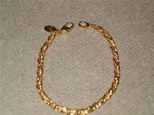 "Buy Sarah Coventry Jewelry..7-1/4"" French Rope Bracelet.....#1054"