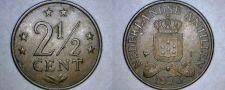 Buy 1973 Netherlands Antilles 2-1/2 Cent World Coin