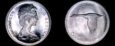 Buy 1967 Canadian Silver Dollar World Coin - Canada Centennial