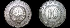 Buy 1977 Yugoslavia 10 Dinara World Coin