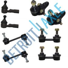 Buy NEW 8 pc Kit - 2 Front Lower Ball Joint + 4 Sway Bar Link + 2 Outer Tie Rod Set