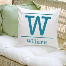 Buy 16x16 Family Name Throw Pillows - Free Personalization