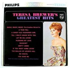 Buy TERESA BREWER ~ Teresa Brewer's Greatest Hits 1962 Pop LP