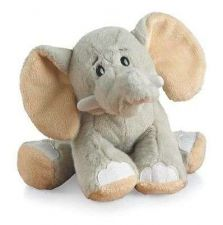 Buy Gray Elephant Stuffed Animal Soft Plush Baby Toys Doll Kids Gift Hugging Play