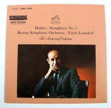Buy MAHLER / Symphony No. 1 ~ Erich Leinsdorf / Boston Symphony Classical LP