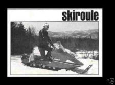 Buy SKIROULE 1971 1972 1973 300 440 447 SNOWMOBILE MANUALs