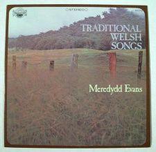 Buy TRADITIONAL WELSH SONGS ~ Meredydd Evans Stereo LP