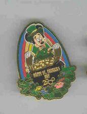 Buy St. Patrick's Day Mickey Mouse Leprechaun pin/pin