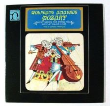 Buy WOLFGANG AMADEUS MOZART ~ Divertimento For String Trio In E Flat Major LP