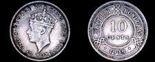 Buy 1939 British Honduras 10 Cent World Silver Coin