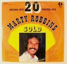 Buy MARTY ROBBINS ~ 20 Original Hits GOLD 1975 Country LP K-Tel