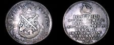 Buy 1764 Coronation Joseph II as Holy Roman Emperor Silver Jeton -Frankfurt Am Main