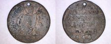 Buy 1802 Italian States Papal States 1 Baiocco World Coin - Holed