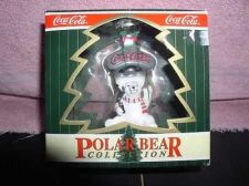 Buy Coca-Cola Polar Bear Collection ornament Mint original Box