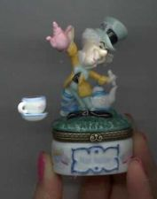 Buy Disney Alice Wonderland Mad Hatter Porcelain Hinged Box PHB