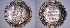 Buy 1916 Canada 1 Large Cent World Coin - Canada
