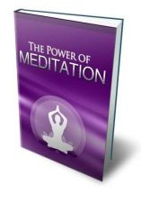 Buy Power Of Meditation Ebook + 10 Free eBooks With Resell rights ( PDF )