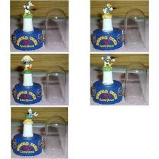 Buy Disney Donald Duck Set of 5 thimbles with Stand and Dome each one