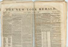 Buy New York New York City Newspaper Title: New York Herald Date: Nov-4-1860~1