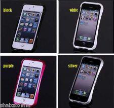 Buy DESIGNER ALUMINIUM METAL BUMPER CASE COVER FOR APPLE iPHONE 5S 5 Free screen Pro