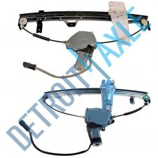 Buy NEW Power Front Driver and Passenger Side Window Regulator Assembly w/ Motor