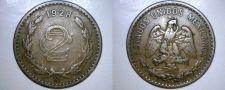 Buy 1928 Mexican 2 Centavo World Coin - Mexico