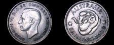 Buy 1939(m) Australian 1 Shilling World Silver Coin - Australia
