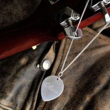 Buy Guitar Pick Necklace - Free Personalization