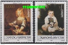 Buy Yugoslavia Jugoslavija EUROPE 1989 MNH stamps
