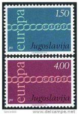 Buy Yugoslavia Europa 1971 mnh stamps