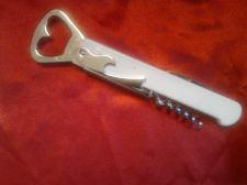 Buy White Wine / bottle opener with corkscrew, bottle opener & Knife 2
