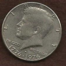 Buy US 50 Cents (Kennedy Half Dollar) 1976 D