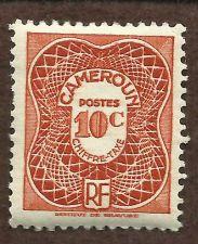 Buy FRENCH CAMEROUN 1947 WWII ERA 10 C POSTAGE DUE STAMP UNUSED + BONUS STAMP!