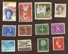 Buy Netherlands Collection of 12 USED Stamps