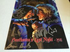 Buy Trans-Siberian Orchestra Beethoven's Last night 2011 signed photo with COA!! Wow