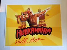 Buy HULK HOGAN AUTOGRAPHED PHOTO WITH COA!!