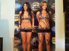 Buy Brittney Palmer Sexy Autographed Photo with C.O.A!!