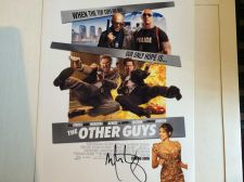 Buy MARK WAHLBERG THE OTHER GUYS AUTOGRAPHED PHOTO WITH COA